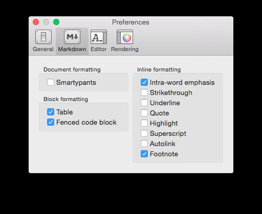 LazyDown – Markdown Editor for Mac